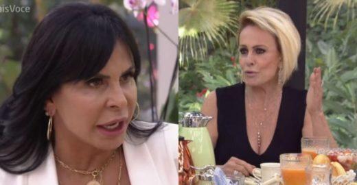 Ana Maria cita currículo de Gretchen ao vivo e web não perdoa