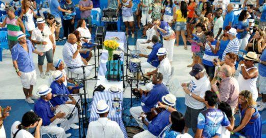 Agenda Rio: Moacyr Luz, Samba da Cabeça Branca e Quintal da Portela