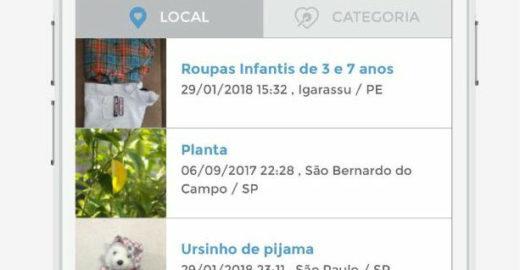 Aplicativo brasileiro permite fazer e receber doações