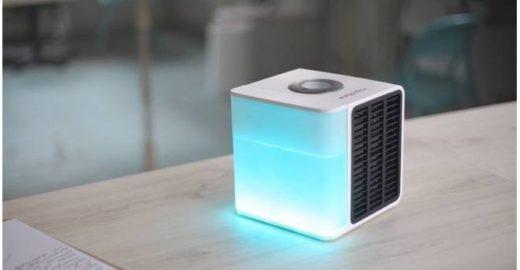 'Ar-condicionado' portátil cabe na mochila e funciona com água