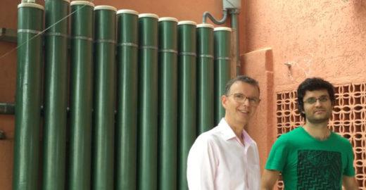 Arquitetos ensinam como criar sistema vertical de captação de chuva