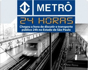 Audiência discute transporte público 24h em São Paulo