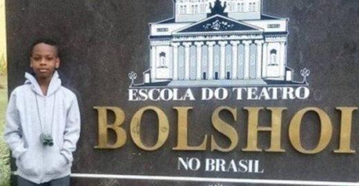 Menino da periferia de Salvador vai estudar balé no Bolshoi