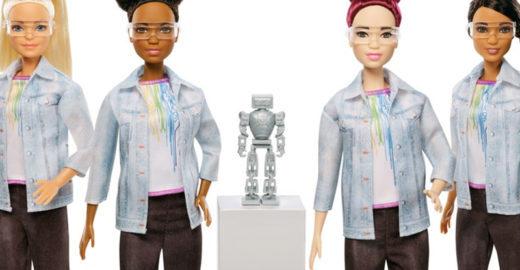 Barbie engenheira de robótica chega ao mercado nesta semana
