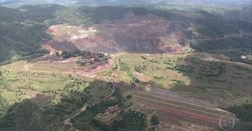 Barragem da Vale em Barão de Cocais (MG) pode se romper