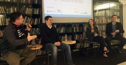 Bate-papo sobre futebol, política e cachaça na Biblioteca São Paulo