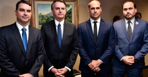 O que a família Bolsonaro anda dizendo sobre os protestos no país