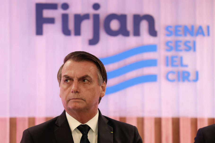 Bolsonaro na Firjan