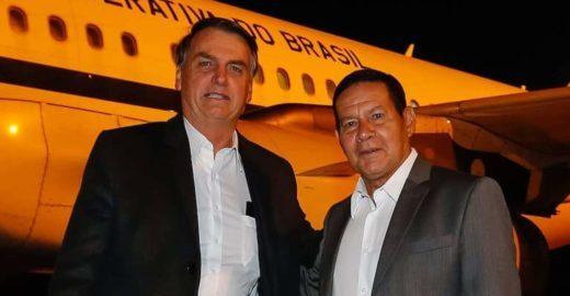 Carros para famílias Bolsonaro e Mourão custarão R$ 7,1 milhões