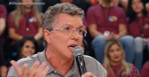 """Após avaliações no """"Show dos Famosos"""" Boninho é detonado na web"""