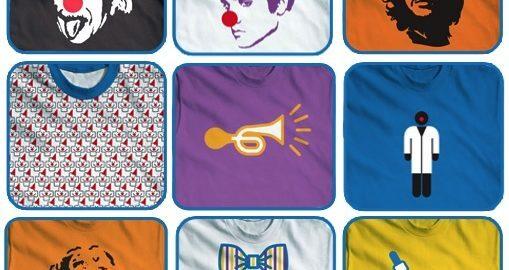 Camisetas exclusivas contribuem com os Doutores da Alegria – R$ 40