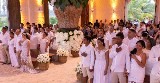Badalada, Capela dos Milagres é palco do casamento comunitário