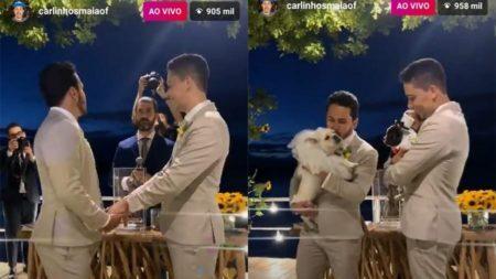 casamento carlinhos maia com transmissão ao vivo