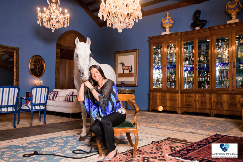 A empresária Luciana Fasano