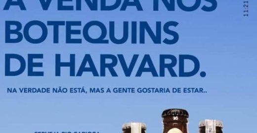 Cervejaria ironiza Witzel: 'à venda nos botequins de Harvard'