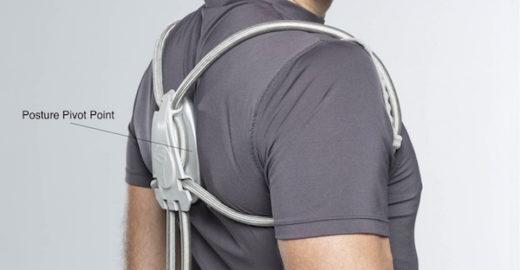 Vestível, 'minicadeira ergonômica' promete postura perfeita