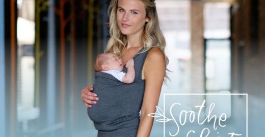 Fique pertinho de seu bebê com esta 'roupa-canguru'