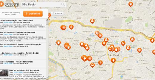 App criado por alunos da UFSCar e da USP mapeia problemas nas cidades