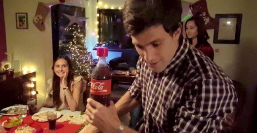 Coca-Cola cria garrafa que grava mensagens de voz