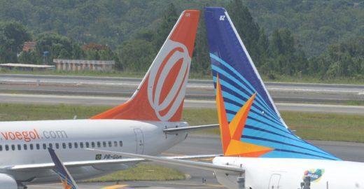 Companhias aéreas brasileiras querem cobrar passagens de bebês