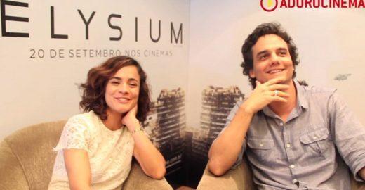 Confira entrevista com Wagner Moura e Alice Braga