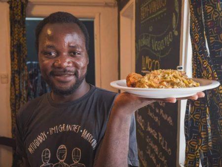 Congolinaria serve pratos vegans típicos do Congo e é uma ótima pedida para o Dia das Mães diferentão