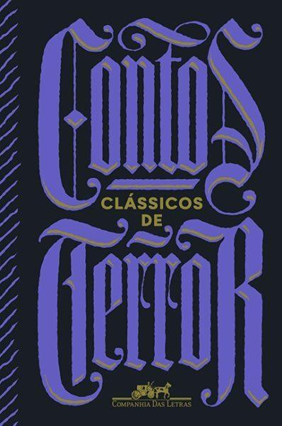 capa do livro contos clássicos de terror pela companhia das letras