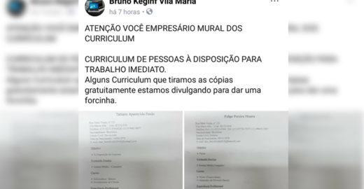 Loja imprime currículo de desempregados de graça em SP