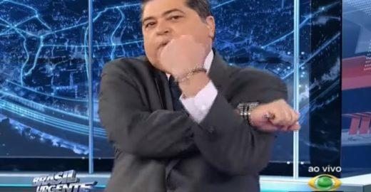 Datena gera baixaria entre Alexandre Frota e filho de Bolsonaro