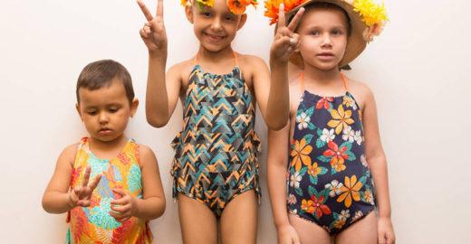 Crianças com câncer desfilam em evento de moda em São Paulo