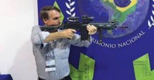 Melhor texto sobre o perigo mortal de Bolsonaro liberar armas