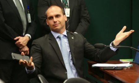 Eduardo Bolsonaro questiona preconceito contra brancos