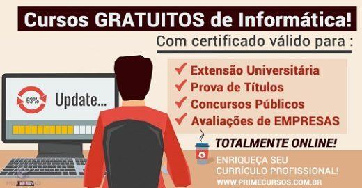 Enriqueça seu currículo com cursos gratuitos online