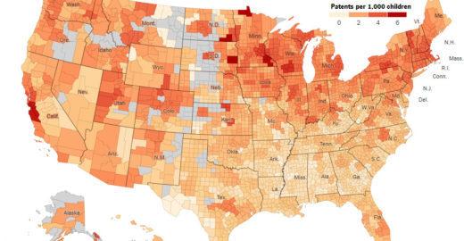 Estudo mostra onde estão os 'Einsteins perdidos' dos EUA