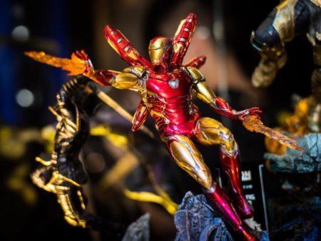 Homem de ferro em miniatura