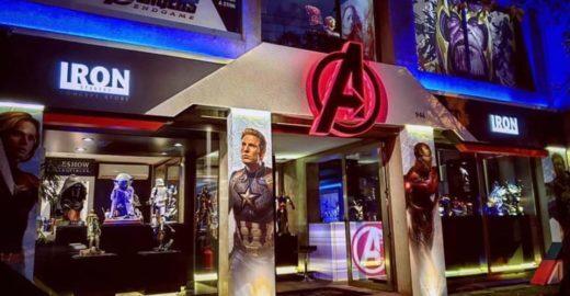 Mostra dos Vingadores tem heróis hiper-realistas e projeções 3D