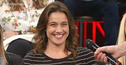 Fernanda Gentil diz que tinha crush em Junior, mas mudou de time