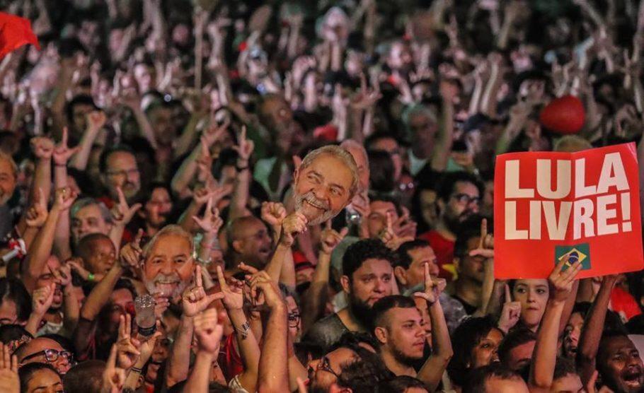 O Festival Lula Livre reuniu 60 mil pessoas em sua última edição, realizada no Rio
