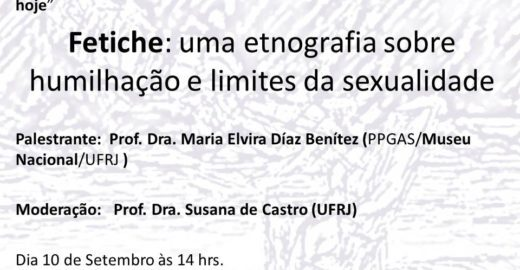 Fetiche e limites da sexualidade em debate na UFRJ