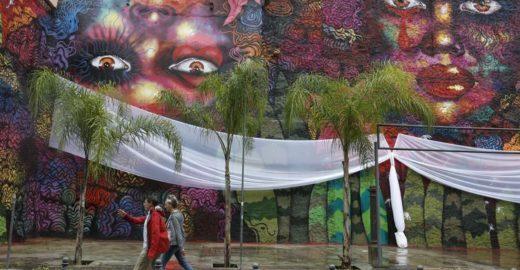 Grafite de 500 m2 no centro do Rio homenageia mulheres negras