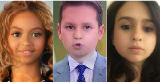 Os 15 resultados mais engraçados de famosos com filtro de criança