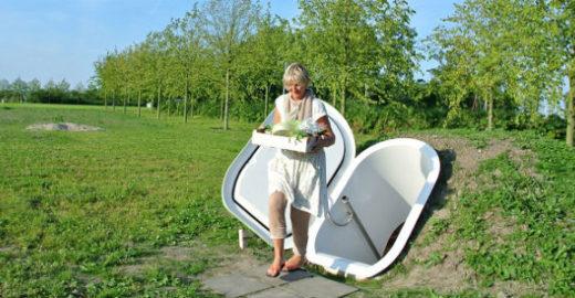 Designer cria geladeira que usa energia natural para funcionar