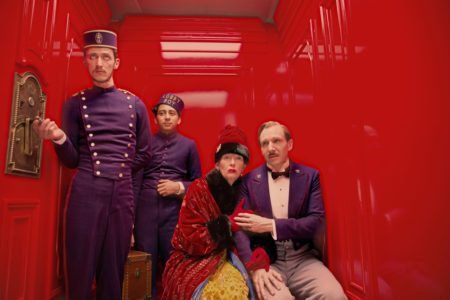 The Grand Budapest Hotel, 2014, dir.Wes Anderson