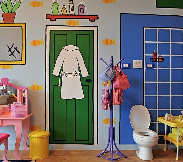 Idéias divertidas para a decoração de casa