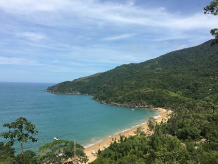 Praia do Jabaquara Ilhabela