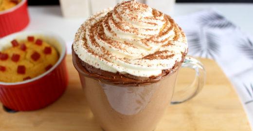 Receita de chocolate quente cremoso igual ao de cafeteria