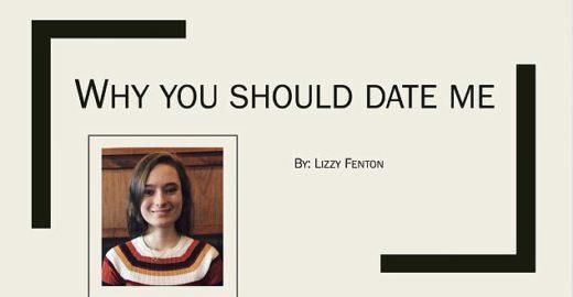 Aluna faz PowerPoint com suas qualidades para conquistar namorado