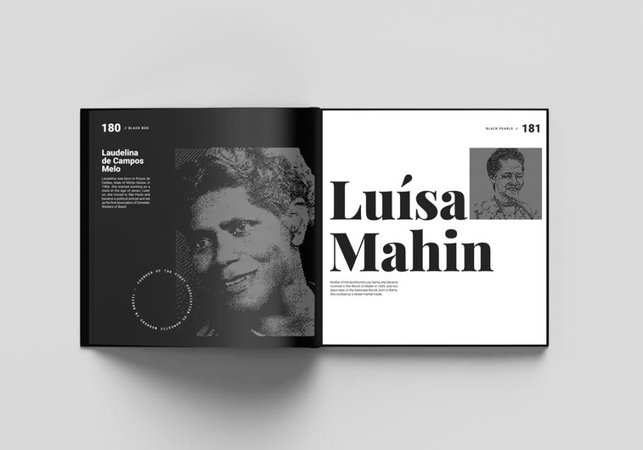 Luísa Mahin, ex-escrava que articulou levantes de escravos na Bahia, está no livro