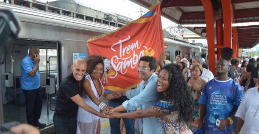 Marquinhos de Oswaldo Cruz fala sobre a importância do Trem do Samba