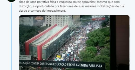MBL critica Bolsonaro e diz que corte no MEC deu força à esquerda